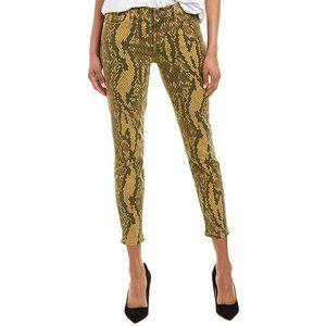 NWT Current | Elliott python print skinny crop jeans
